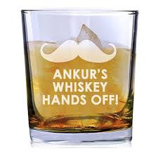 hands off whiskey glass rs 599