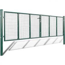 Mesh Garden Gate Fence Panels Green Steel Wall Barrier Barricade Block Rail 251 00end Date Dec 10 Ebay Sales Home Garden Discounts