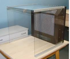 self built spray booth for airbrush