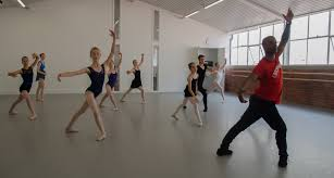 Denzil Bailey leads a ballet class. Photo by Julia Forsyth. - Dance Informa  Magazine