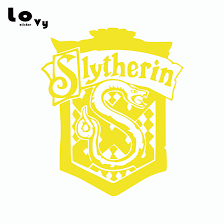 Harry Potter Car Sticker Creative Slytherin Crest Vinyl Car Decal Vinyl Car Decal Car Decalcar Sticker Aliexpress
