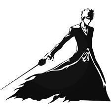 Bleach Ichigo Ban Kai 920 Decal