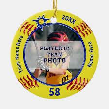 personalized softball gifts
