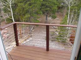 Safety Deck Railing Designs In Pretty Looks Oscarsplace Furniture Ideas