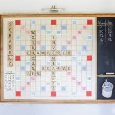 diy giant wall scrabble game