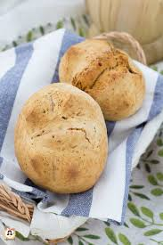 Pane senza Lievito di birra veloce - Impasto con bicarbonato Anche ...