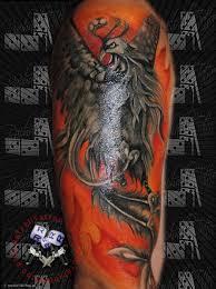 Feniks Phoenix Tattoo Cover Zdjecie Fotoblog Gerard130 Flog Pl