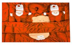 bm creation velvet baby bedding set