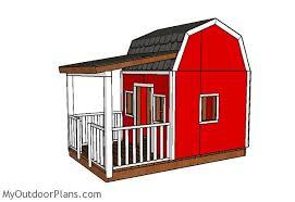 barn playhouse plans myoutdoorplans