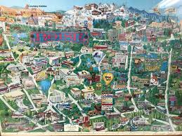map gives glimpse of early 1990s boise