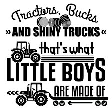 Tractors Trucks Home Little Boys Bedroom Wall Lettering Art Decal Quotes 20x20 Ebay