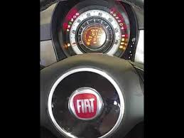 fiat 500 oil light reset you