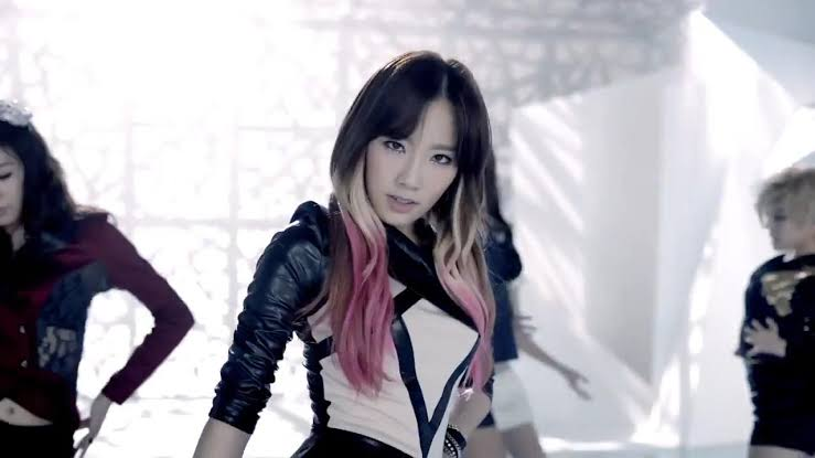 Image result for taeyeon hair highlights