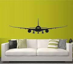 Jet 787 747 Jet Liner Jumbo Jet Air Plane Vinyl Wall Decal Mural Sticker Ebay