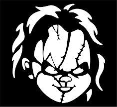 Amazon Com Shopforallyou Stickers Decals Matte White Chucky Child S Play Horror Vinyl Decal Sticker Car Truck Window Clothing