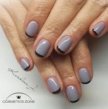 Lakier Hybrydowy Jasny Szary 7ml Bukle Gray 104 Cosmetics Zone