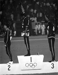 Amazon.com: Tommie Smith and John Carlos making a Black Power ...