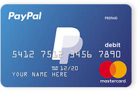 paypal cards credit cards debit