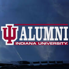 Alumni Logo Bar Decal The Iu Bookstore Southeast