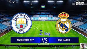 PES 2020 | Manchester City vs Real Madrid | 2 leg UEFA Champions League UCL  1/8