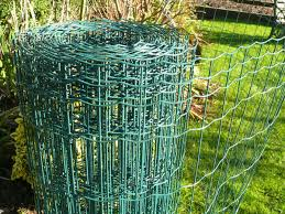Rat Squirrel Fencing Galvanised Steel Wire Fence Mesh For Vermin
