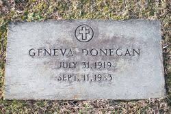Geneva Sullivan Donegan (1919-1983) - Find A Grave Memorial