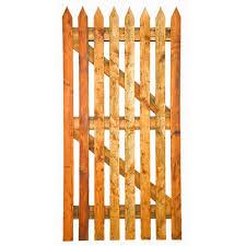 Picket Garden Gates Timber Gates Posts