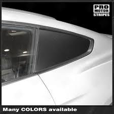 Ford Mustang 2015 2019 2005 2009 Side Rear Window Blackout Accent De Pro Motor Stripes