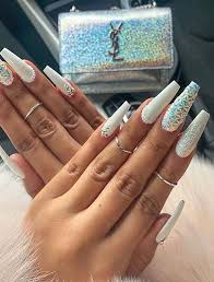 lovely long nail art designs to wear in
