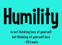 th sunday of the year practicing humility three great things
