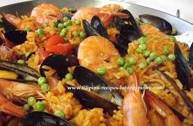 recipe for paella