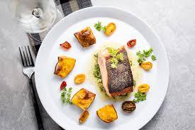 Crispy Skin Pan-Seared Salmon