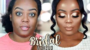 bridal wedding makeup tutorial