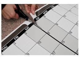 Dry Erase Full Year Calendar Decal