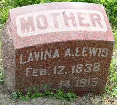 Lavina Ann Rogers Lewis (1838-1915) - Find A Grave Memorial