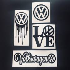 Excited To Share The Latest Addition To My Etsy Shop Volkswagen Vw Love Decals Stickers Averyraedesigns Volkswagen Volkswagen Pom Pom Decorations Vw Cars