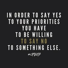 best priority quotes and sayings