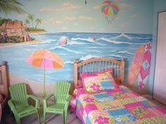Beach Themed Kids Bedroom Google Search Beach Themed Bedroom Girl Room Bedroom Themes