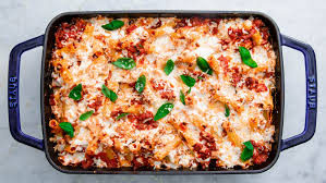 easy baked ziti recipe with meat how