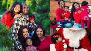 One of Kobe Bryant's last Instagram posts was of Christmas photos ...