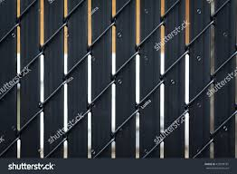 Black Metallic Fence Chain Link Fence Stock Photo Edit Now 433599781