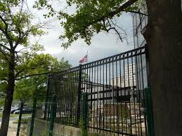 Easy Install Low Price Steel Metal Fence Panel Home Depot Security Wrought Iron Fence For Sale Buy Easy Install Low Price Steel Metal Fence Metal Fence Panel Home Depot Security Wrought Iron Fence
