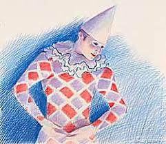 Original Artwork: Adrian George: Circus Clown