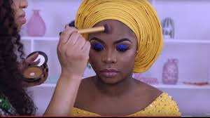 nigerian wedding makeup transformation