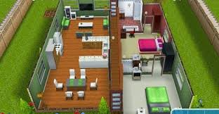 sims freeplay hallway house