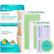 haphome wax strips waxing kit for