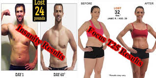 insanity vs focus t25 how these two