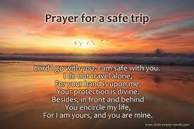 prayer for safe travel for a loved one
