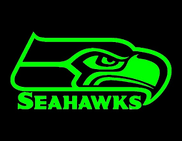 Seattle Seahawks Vinyl Window Decal Pick Your Size And Color Etsy