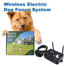 Jieyuan Wireless Dog Fence Pet Containment System Safe Effective Vibrate Shock Dog Fence Adjustable Range Up To Wireless Dog Fence Dog Fence Invisible Fence